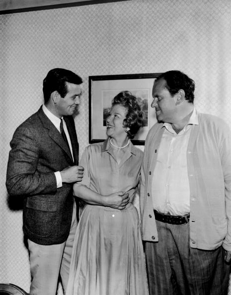 David Janssen, Glenda Farrell, and Jack Weston in an episode of The Fugitive.