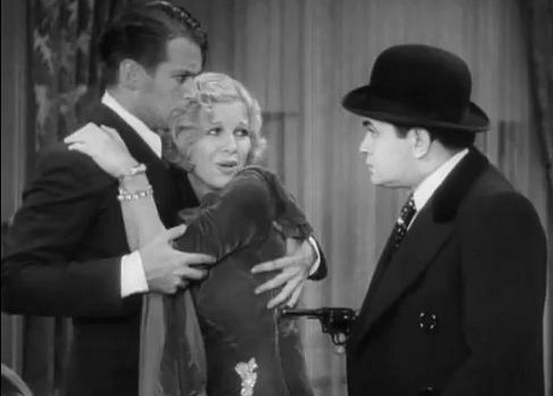 Douglas Fairbanks Jr, Glenda Farrell, and Edward G. Robinson in Little Caesar