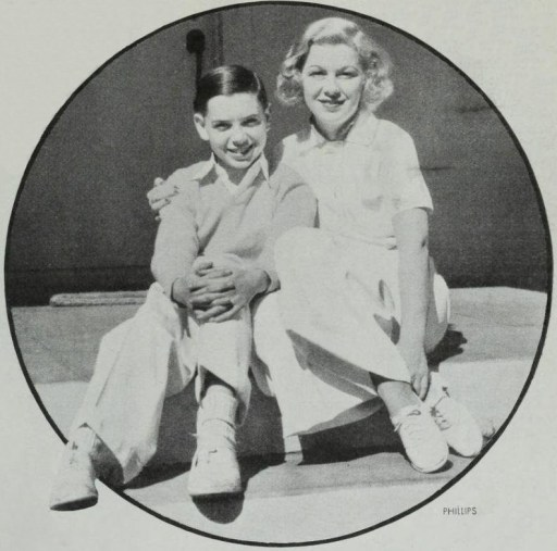Glenda and Tommy Farrell.