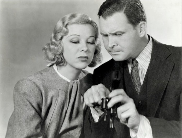 Glenda Farrell and Barton MacLane in Smart Blonde