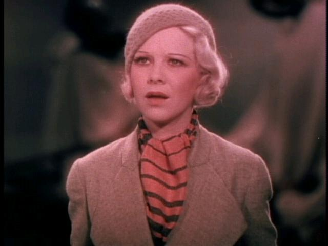 Glenda Farrell in Mystery of the Wax Museum