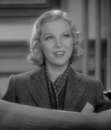Glenda Farrell as Torchy Blane.