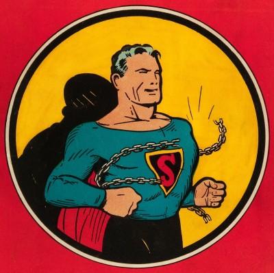 Superman #1 back.